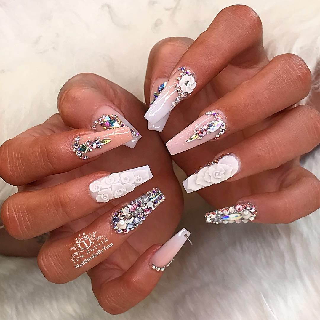 Tom Nguyen On Instagram 21st Birthday Nail Look As Requested