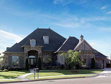 Plan 48245FM Spacious One Level Home Plan French country house