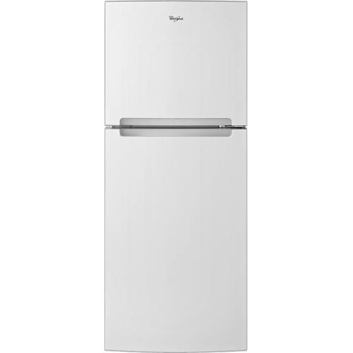 Whirlpool 10 7 Cu Ft Top Freezer Refrigerator White Larger