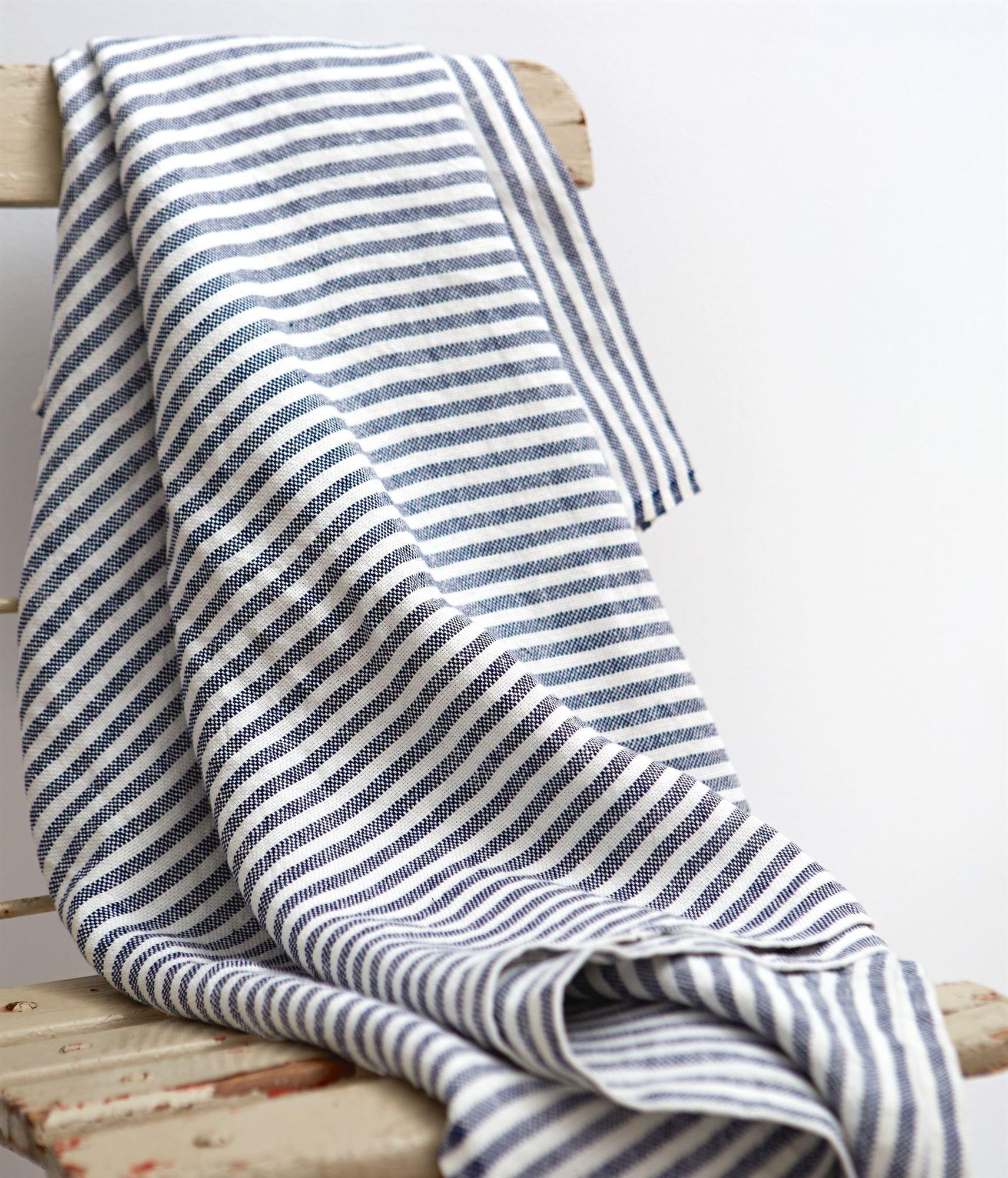 Fog linen at elsie green chambray linen blanket cushion throw