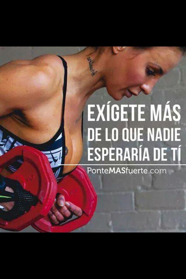 #fitness #exgete #espera #nadie #mas #que #de #lo #de #tiExígete mas de lo que nadie espera de ti