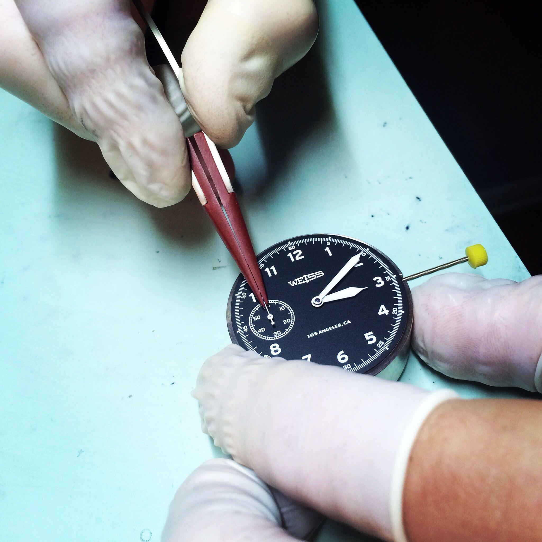 Pin van Gees op watchmaker