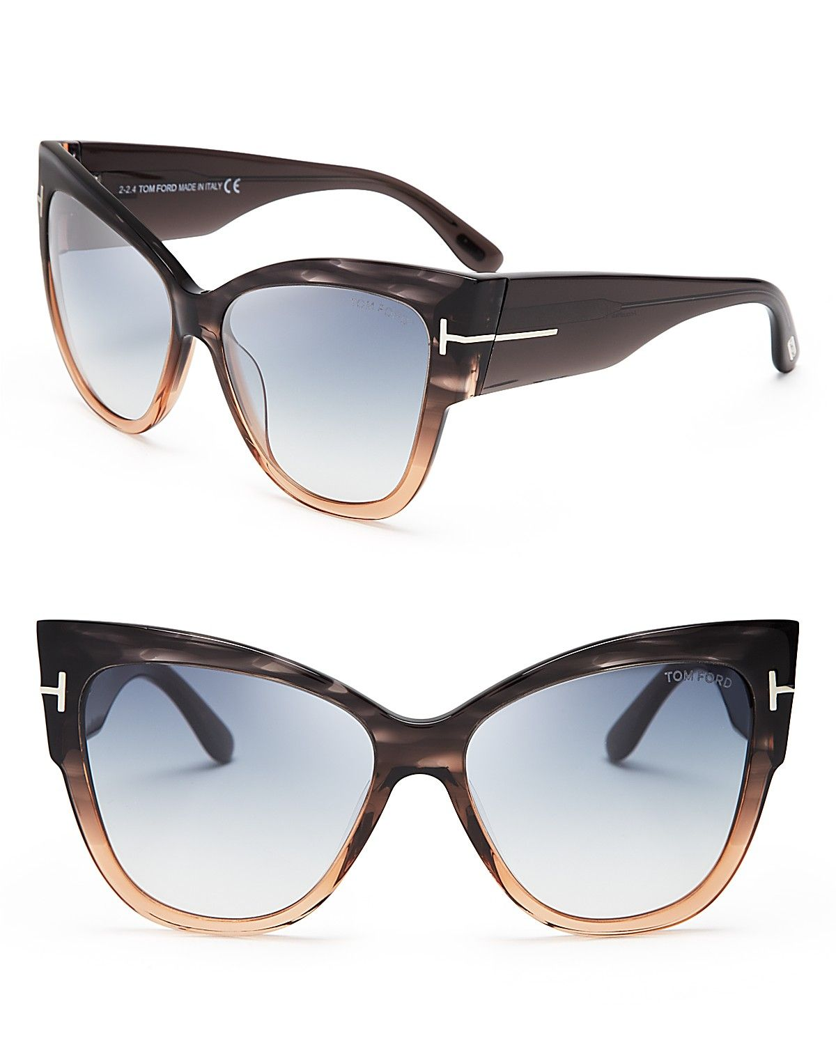 Tom Ford Anoushka Cat Eye Sunglasses | $425 | EYE DO | Pinterest ...
