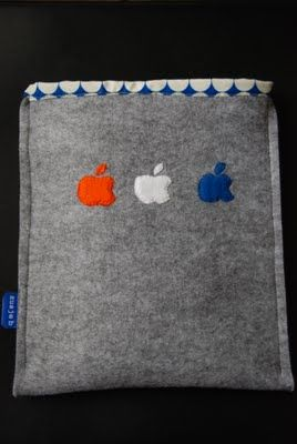 zusje b: Home Sweet Home - my sewing space & iPad sleeve tutorial (fathersday gift)