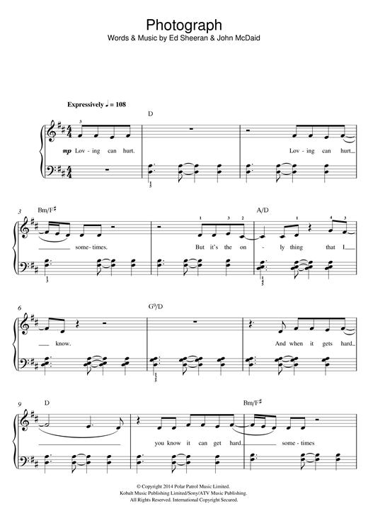 Ed Sheeran Piano Sheet Music Google Search Piano Sheets
