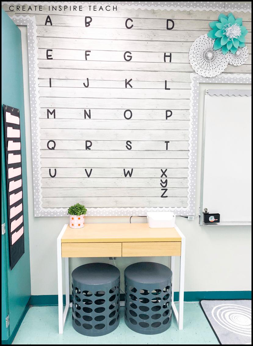 Create Inspire Teach – Classroom Makeover Reveal!