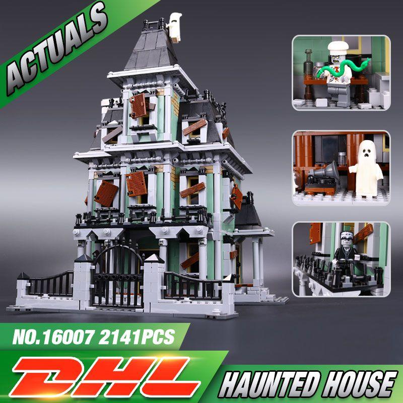 Nouveau LEPIN 16007 2141 Pcs Monstre combattant La maison hantée - modele de construction maison