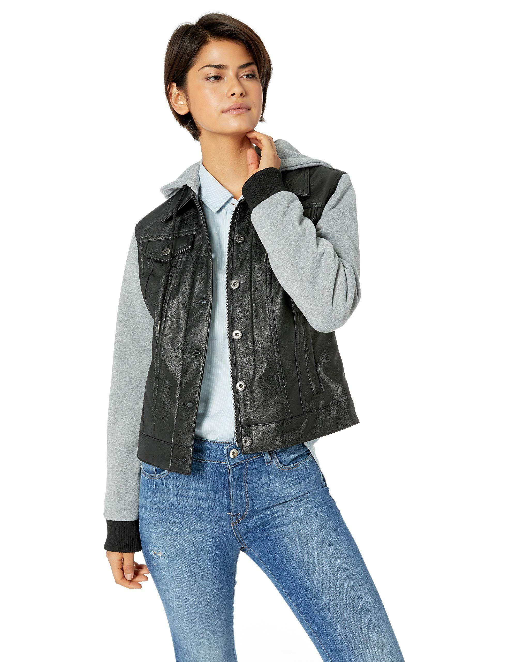 Levi's Women's PlusSize Original Trucker Jackets Fringe