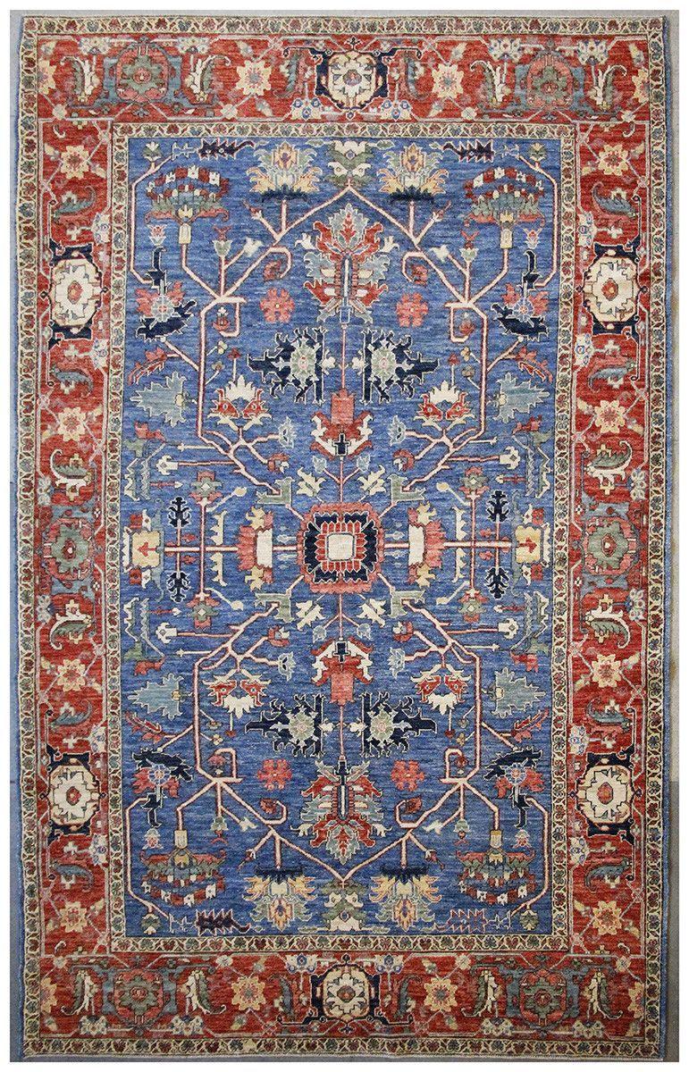 Afghan Heriz Oriental Rug Berkeley