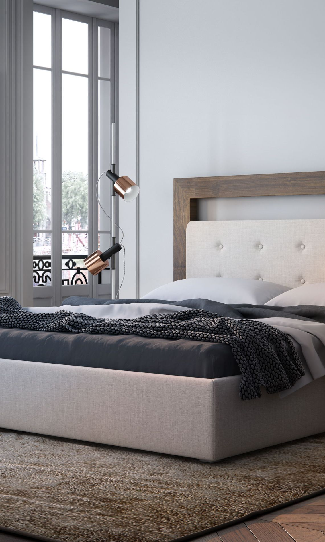 The Chloe Modern Bed From Sandro Is Inspired By Modern