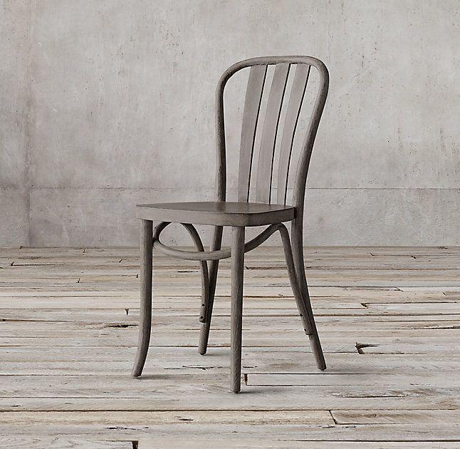 Paris Bistro Side Chair Wood Patio Furniture Patio