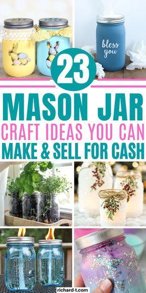 Photo of 23 Easy DIY Mason Jar Crafts That Look Spectacular