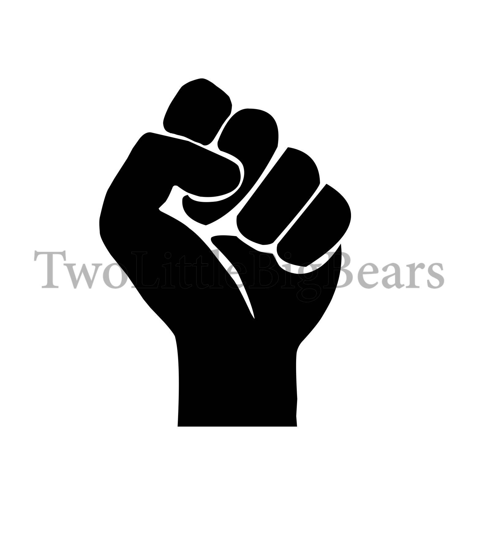 Fist Of Power Png Jpg Svg Dxf Studio3 Hand Drawing Vector Etsy How To Draw Hands Custom Drawing Hand Illustration