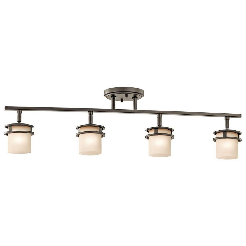 Kichlerlighting hendrik four light track rail bathrooms kichler lighting hendrik four light track rail 7772 monorail and track lighting standard track complete kits aloadofball Gallery
