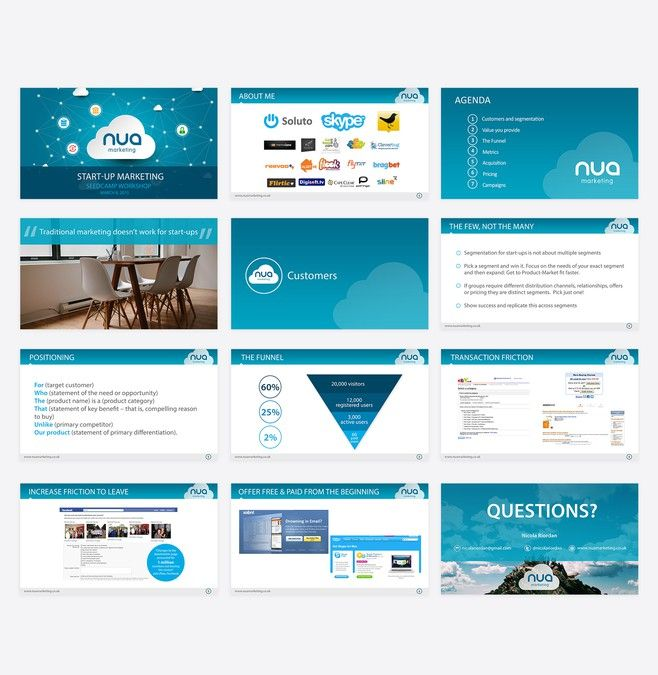 Guaranteed* Powerpoint template for Nua Marketing by Joemar - powerpoint designer resume