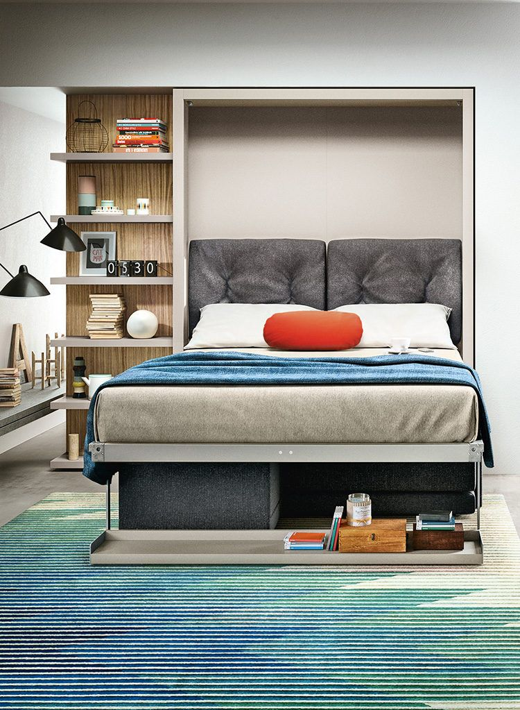 The Oslo 173 Is A Self Standing Queen Size Wall Bed With A Two