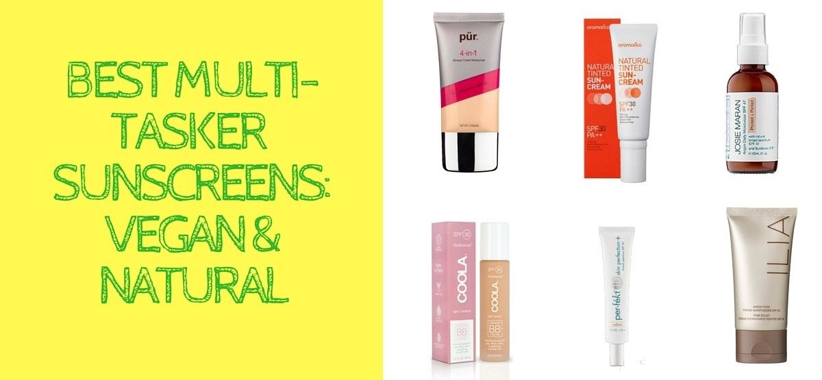 Best Natural and Vegan Sunscreens - Best Natural Tinted Sunscreens