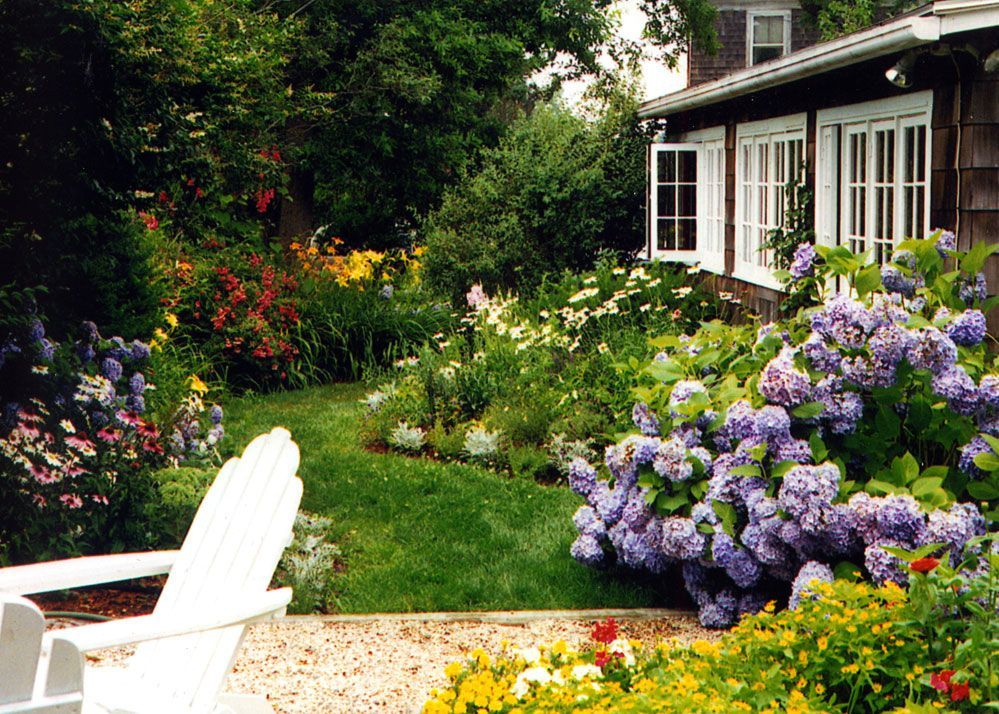 Woodshole seaside cottage jean brooks landscapes for Cottage garden design