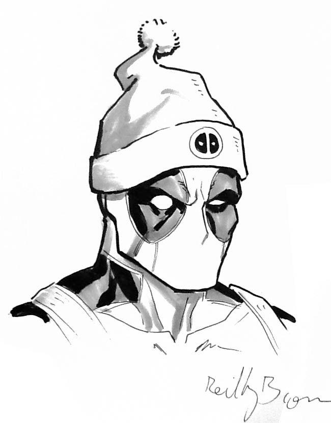 DeadPool Xmas | Draw | Pinterest | Hintergrundbilder und Zeichnungen