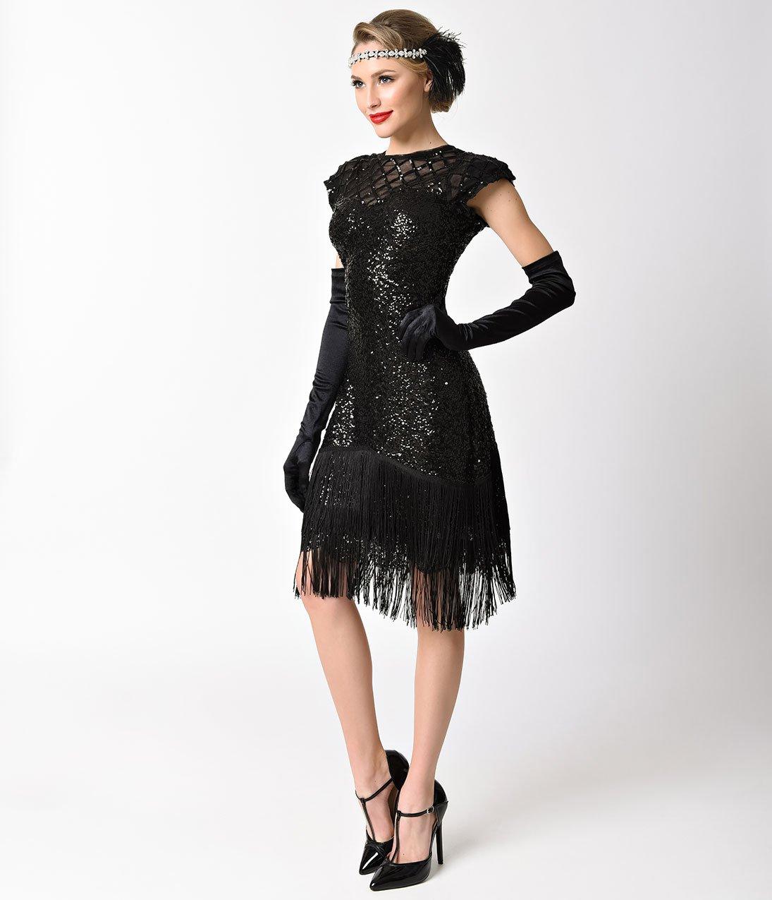 Gatsby Flapper Dresses 1920s