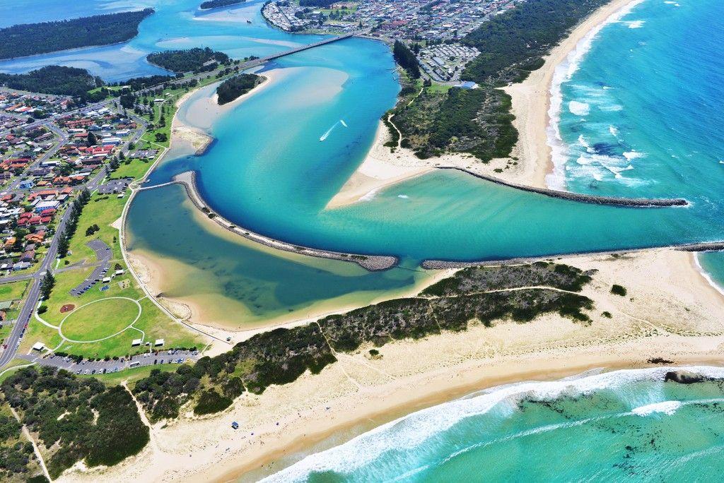 The Entrance Lake Illawarra Aerial Photography Wollongong Aerial