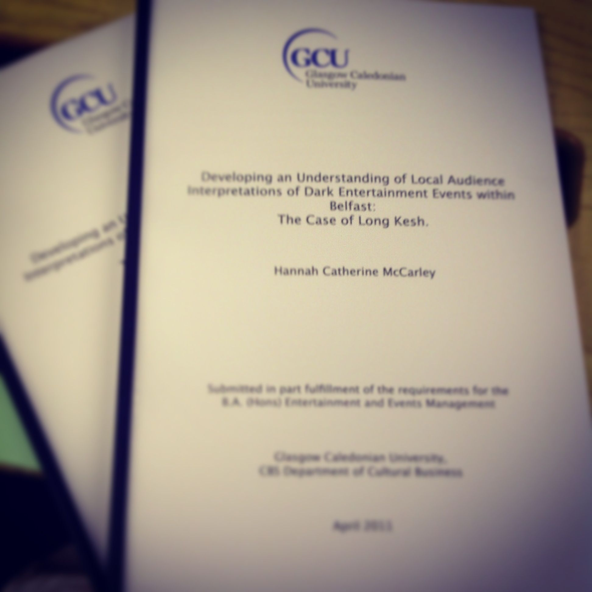 So excited to finally be getting a Leather Bound Version of my Dissertation.