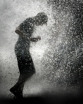 walking in the rain without an umbrella google search