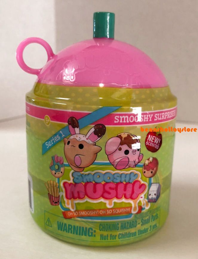 Smooshy Mushy Surprises Smooth & Squishy Milk Jug Scented Milk jugs, Ketchup bottles and Toy
