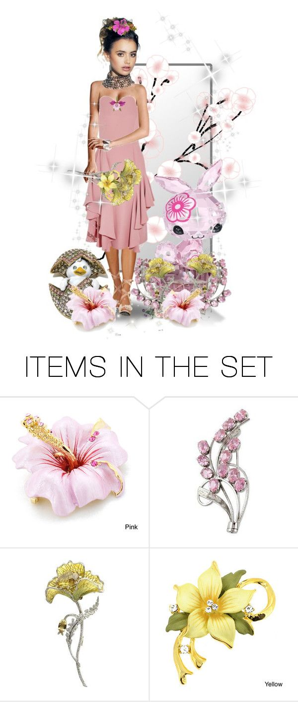 """Just Jewels Spring"" by sabine-713 ❤ liked on Polyvore featuring art"