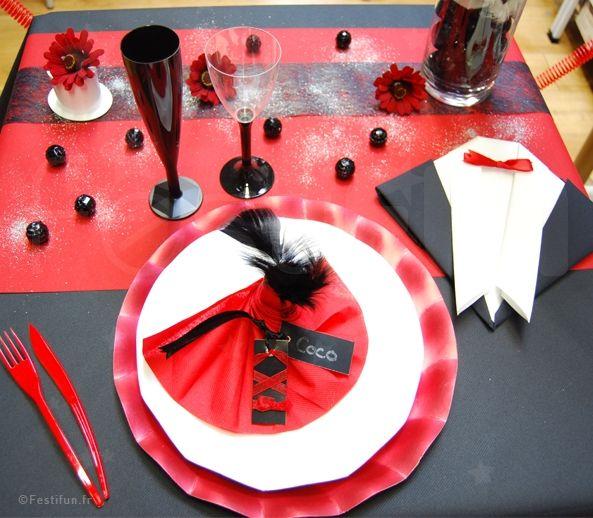 une décoration de table en accord parfait avec le thème | fn