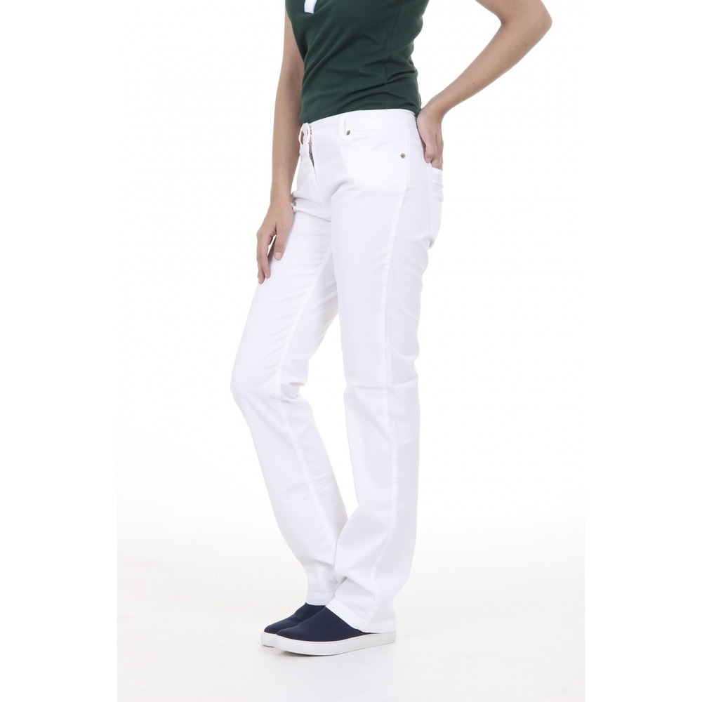 74.48$  Buy here - http://viicz.justgood.pw/vig/item.php?t=a6y99557208 - White 46 EUR - 10 US Fred Perry Womens Trousers 31502574 9100 74.48$