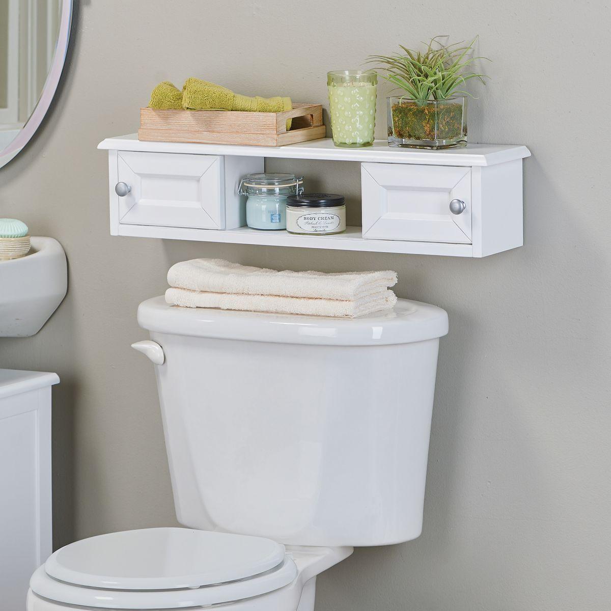 Beau Weatherby Bathroom Slim Wall Mounted Bath Cabinet