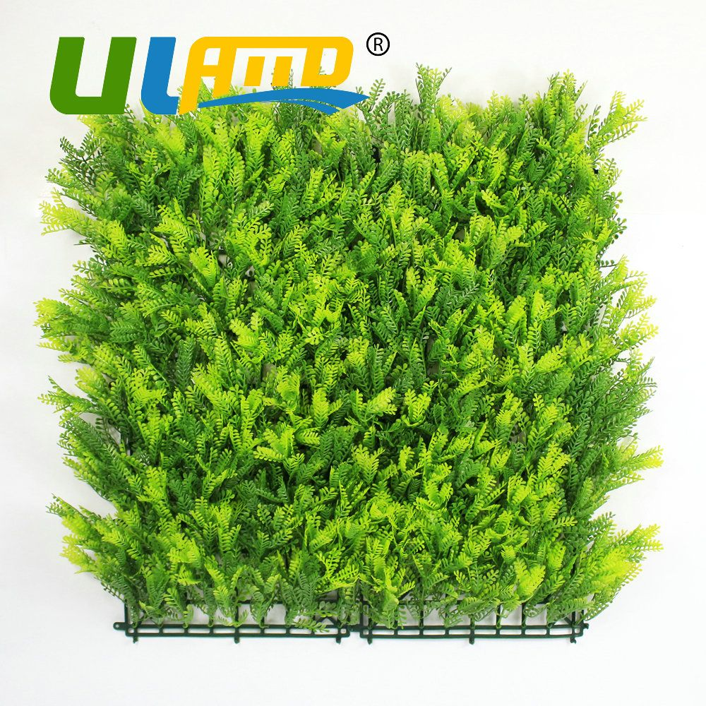 ULAND Artificial Boxwood Hedges Panels 50x50cm/pc Plastic Synthetic ...