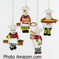 Chef Christmas Ornaments For Perfect Kitchen Christmas Decor Christmas Ornaments Christmas Kitchen Decor Christmas Decorations