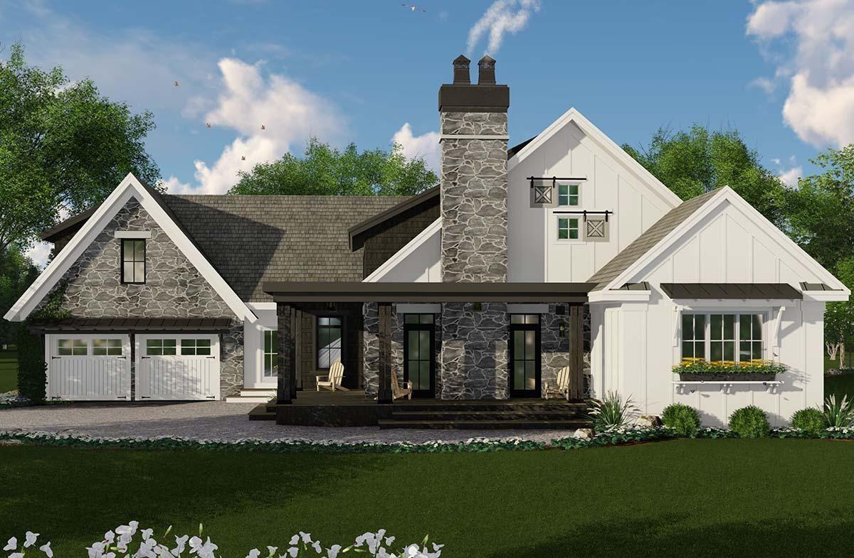 House Plan 098 00301 Modern Farmhouse Plan
