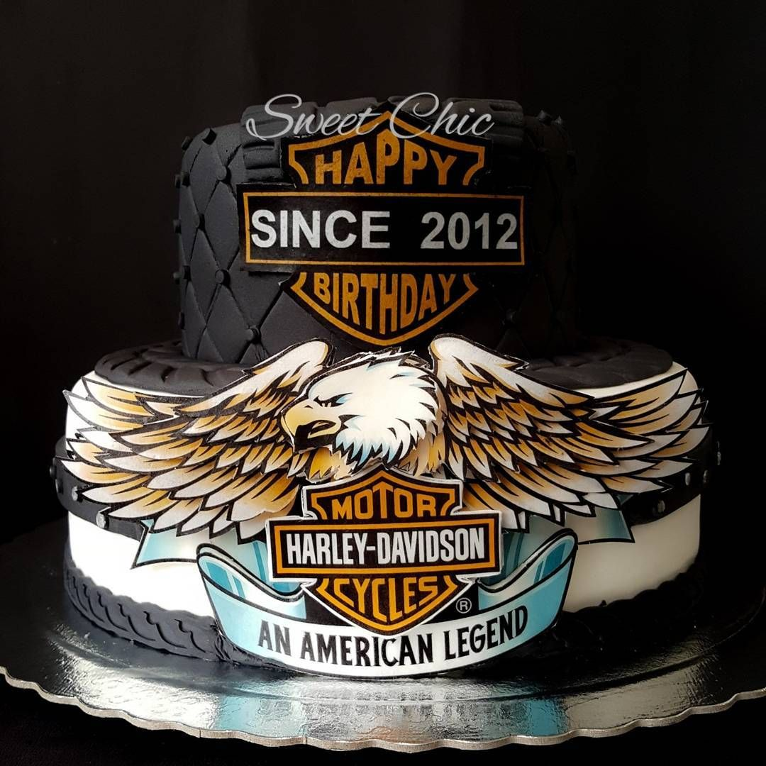 Harley davidson cake harley davidson cake motorbike