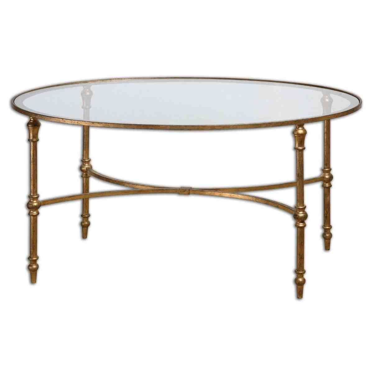 Ordinaire Small Round Glass Side Table