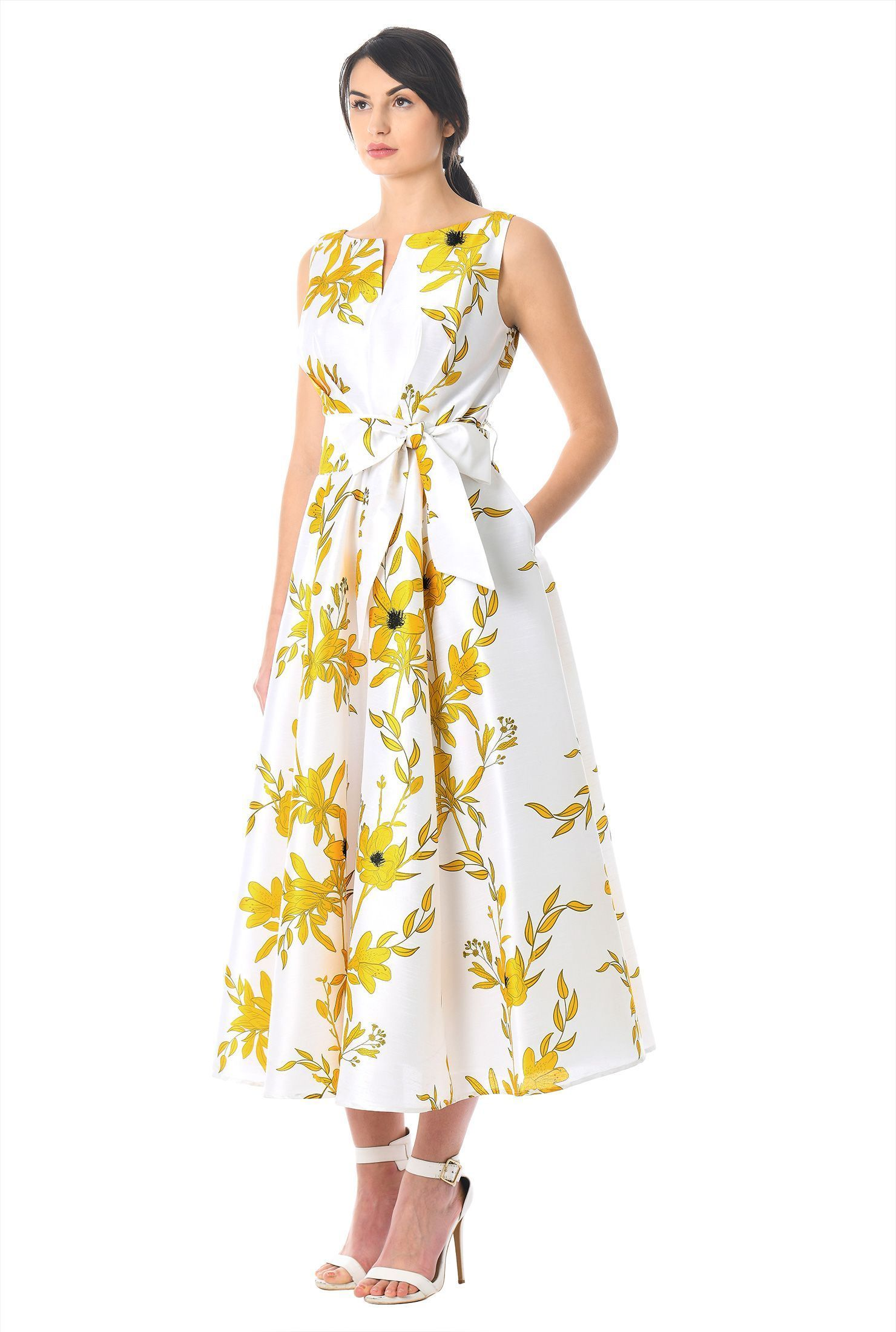 Yellow dress wedding guest  Wedding Guest dress weddingdress  Apparel  Pinterest  Wedding