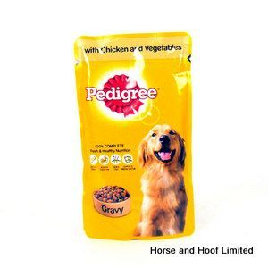 Pedigree Chicken Vegetables In Gravy Dog Food 24 X 100g Dog