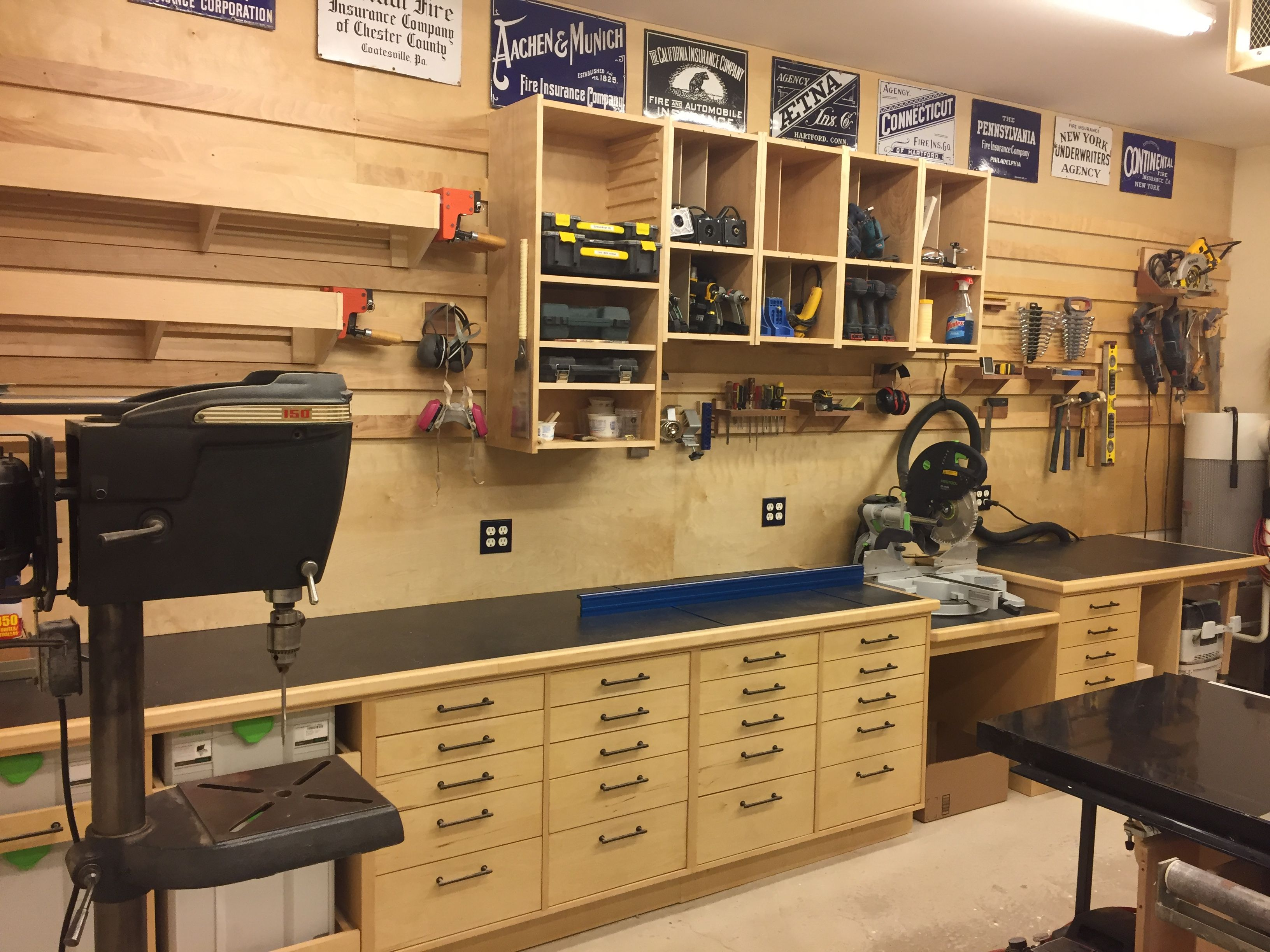 Pin By Don Grimm On Miter Saw Station Woodworking Shop Layout