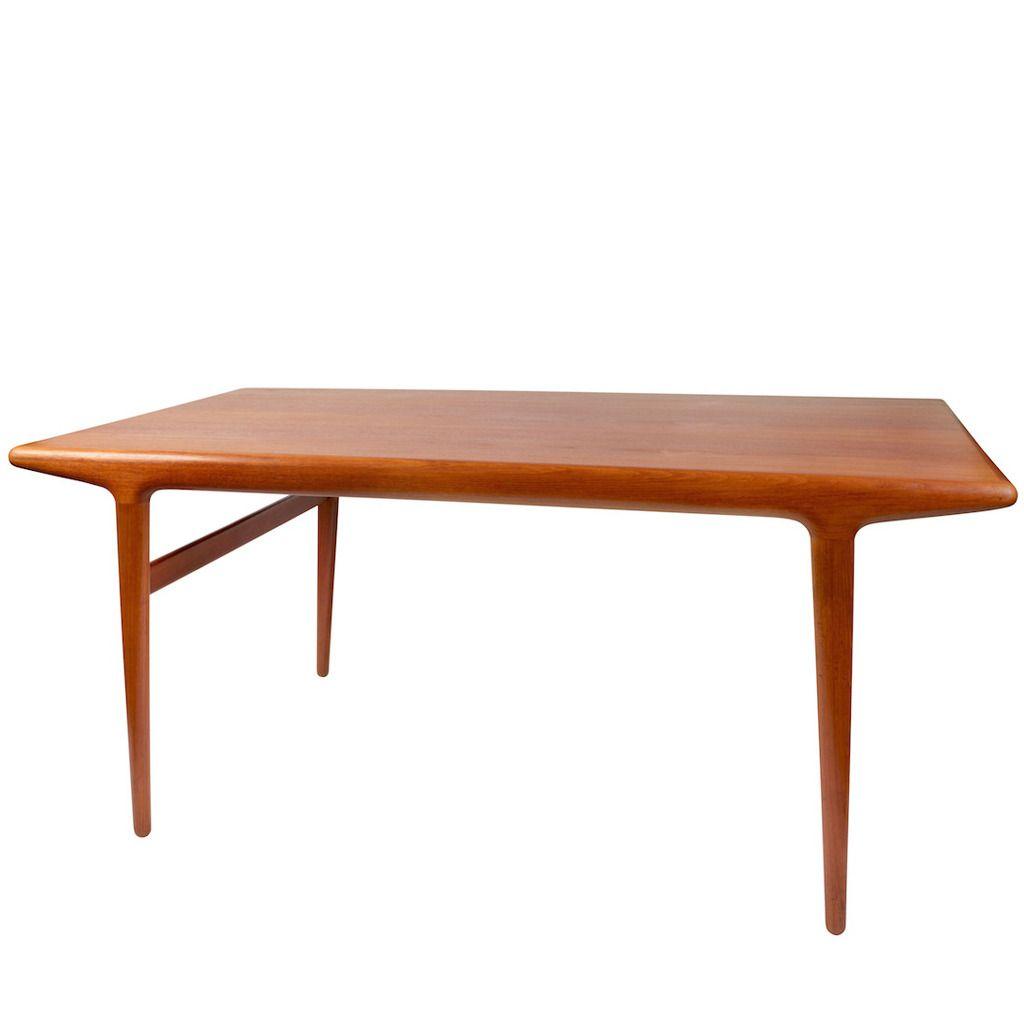 N O Moller Teak Dining Table 1960s 1stdibs Com Teak Dining Table Modern Scandinavian Furniture Modern Dining Room Tables