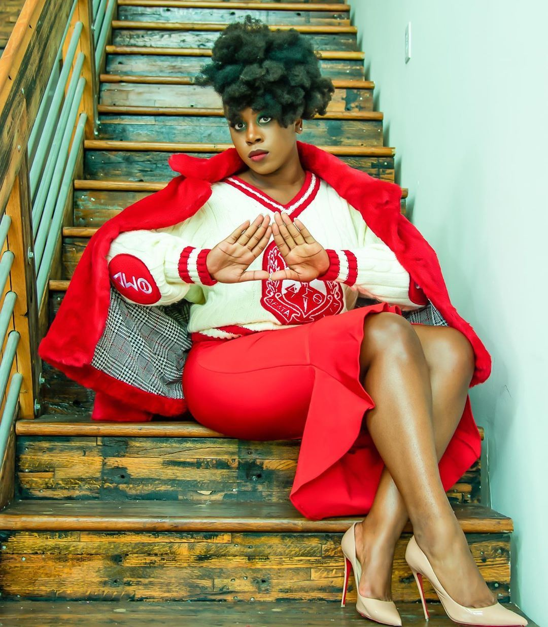 """Because of Them We Can on Instagram: """"Happy Founders Day to the Ladies or Delta Sigma Theta Sorority, Inc! #dst1913 #becauseofthemwecan � (twitter/melanology)"""""""