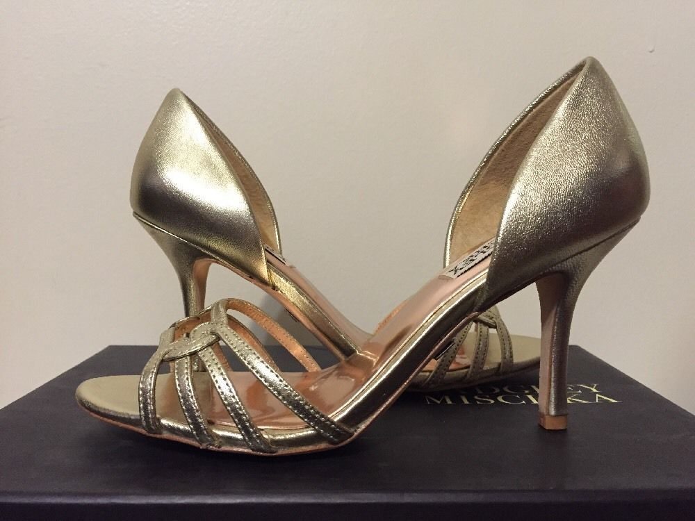 Womens Shoes Badgley Mischka Kennedy Silver Leather