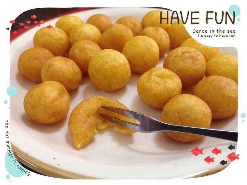 Fried Yam Balls Golden Qq 蛋 地瓜球 Food Recipes Comfort Food