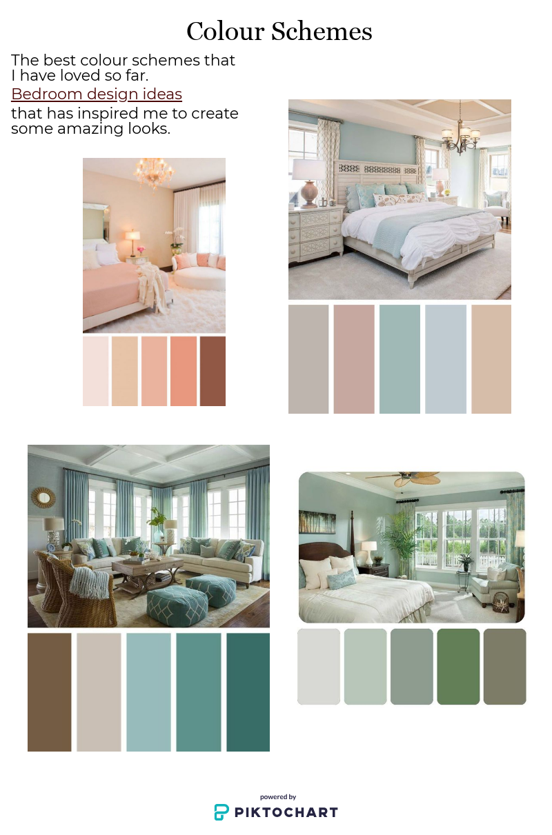 Colour Palettes For Bedroom And Living Room Modern Living