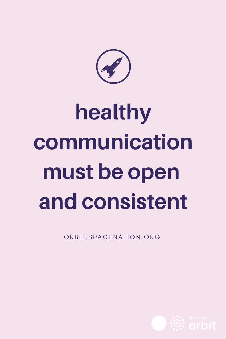 Healthy Communication Must Be Open And Consistent What Can We Learn From The Attempts To Communic Healthy Communication Communication Motivation Inspiration