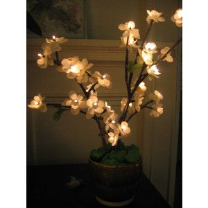 Diy How To Make Cherry Blossom Led Tree Lights Polyvore Led Tree Cherry Blossom Branch Led Diy