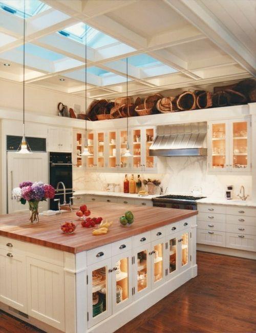 Glasschränke Und Vitrinen   20 Design Ideen Für Die Moderne Küche