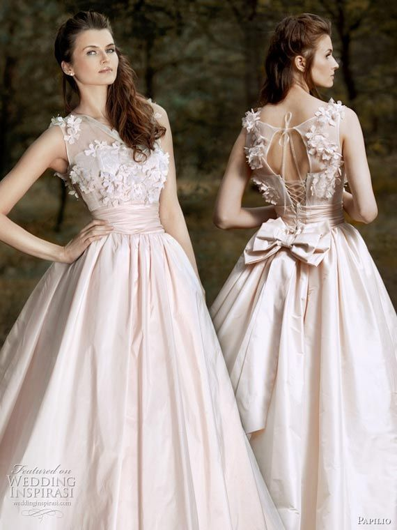 Forest Dreams Strapless Wedding Gowns Designs - Papilio