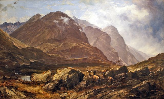 Glencoe Painting By Horatio Mcculloch At Kelvingrove Art Gallery Glasgow Art Painting Art Gallery